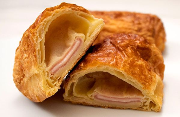 ham and cheese roll